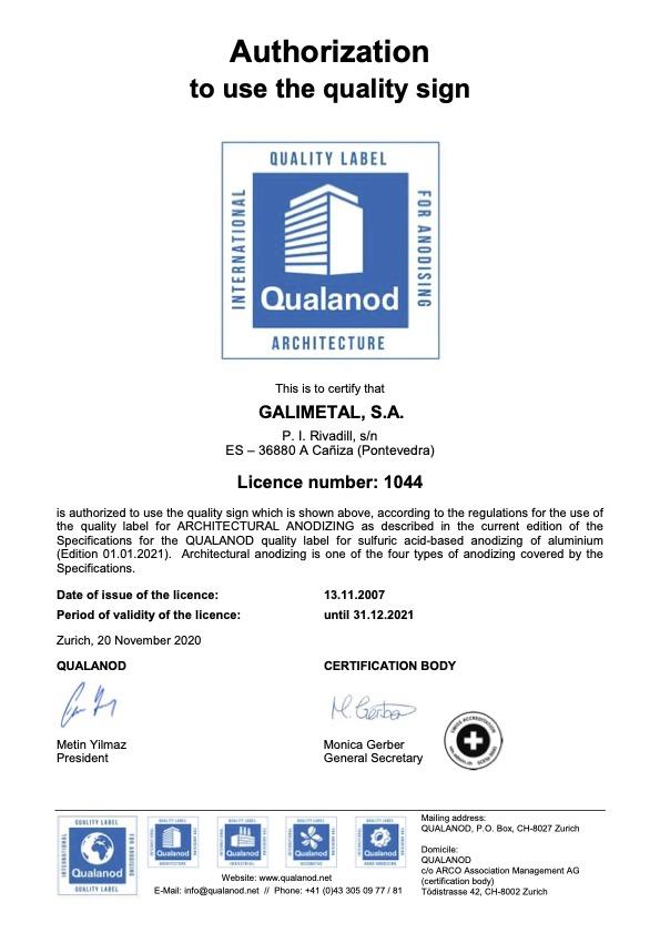 Qualanod Galimetal